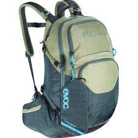 EVOC Explr Pro Mochila Technical Performance 26L, heather light olive-heather slate